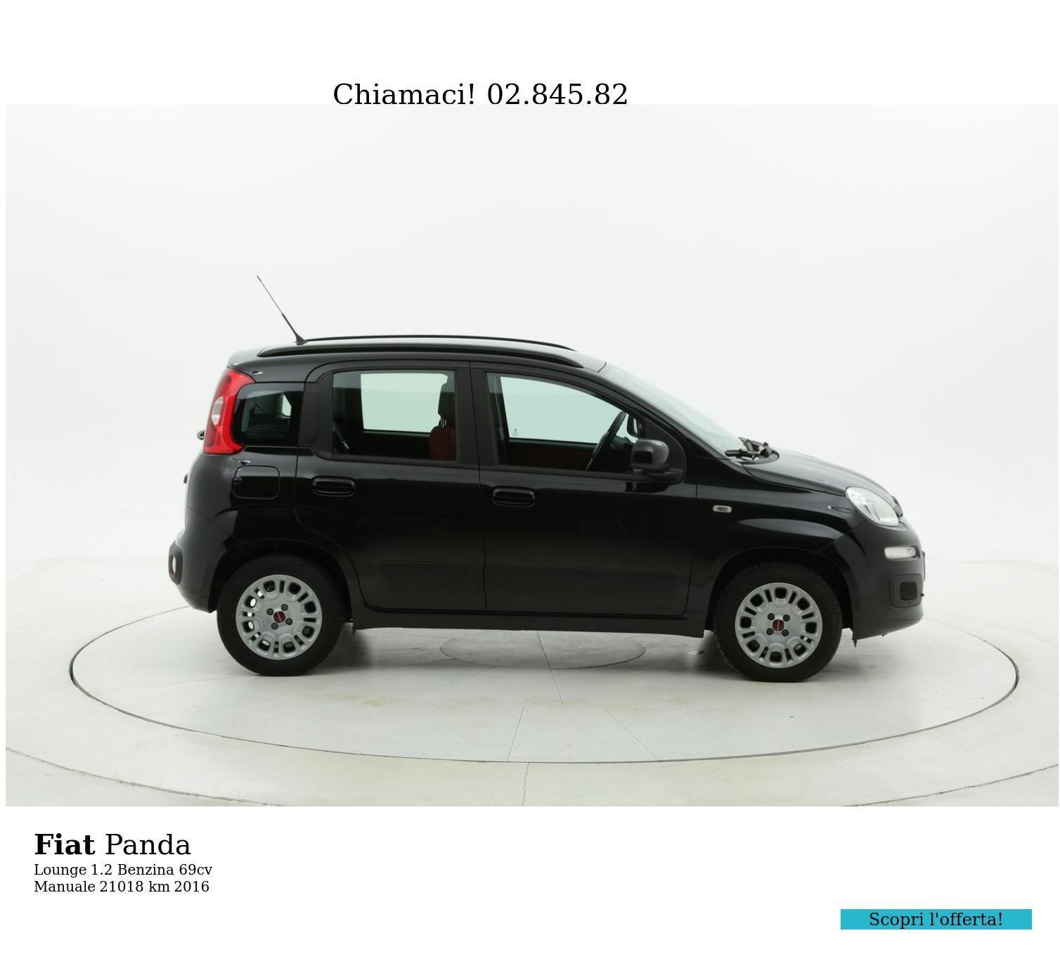 Fiat Panda usata del 2016 con 21.020 km | brumbrum