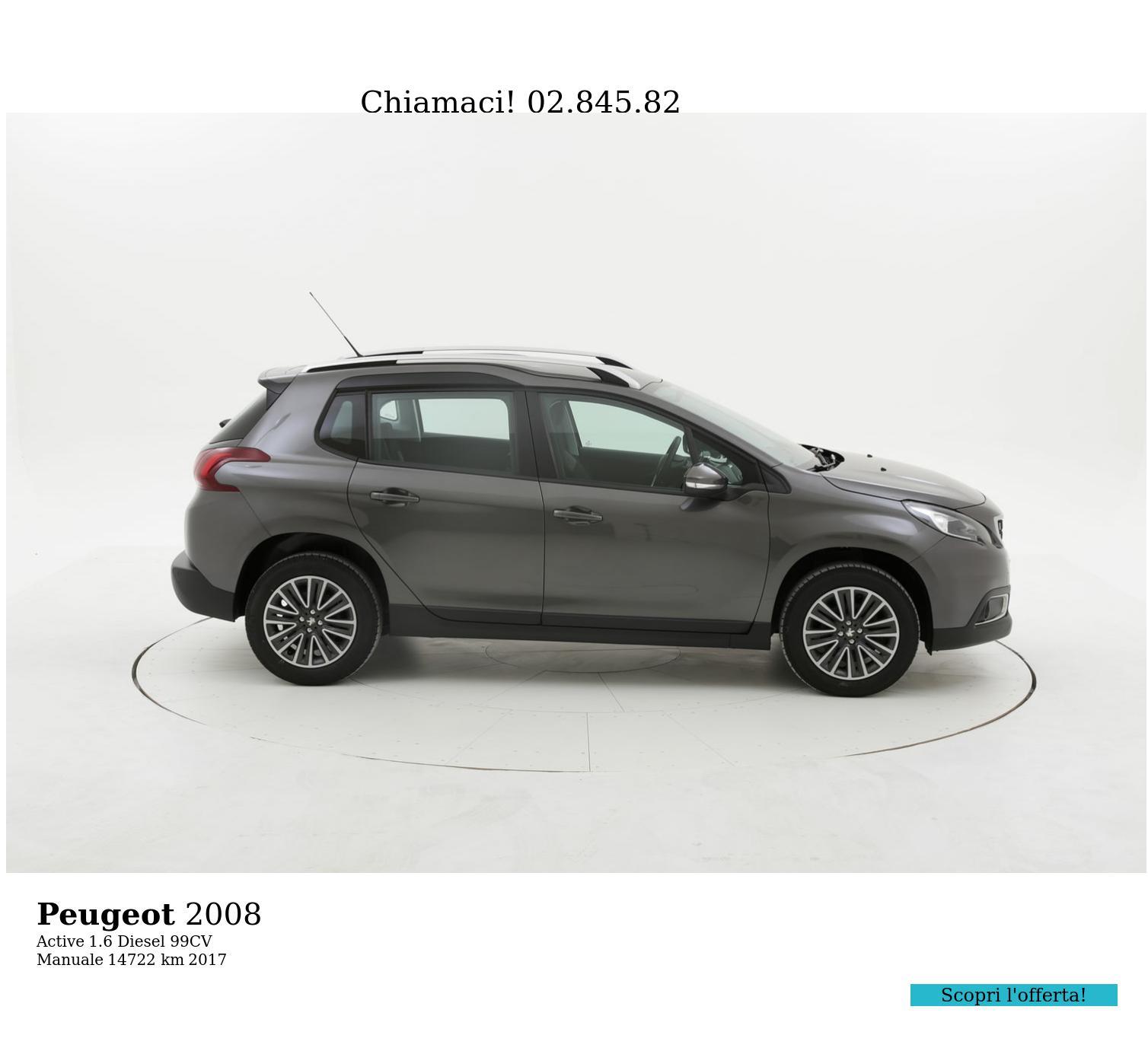 Peugeot 2008 usata del 2017 con 14.789 km | brumbrum