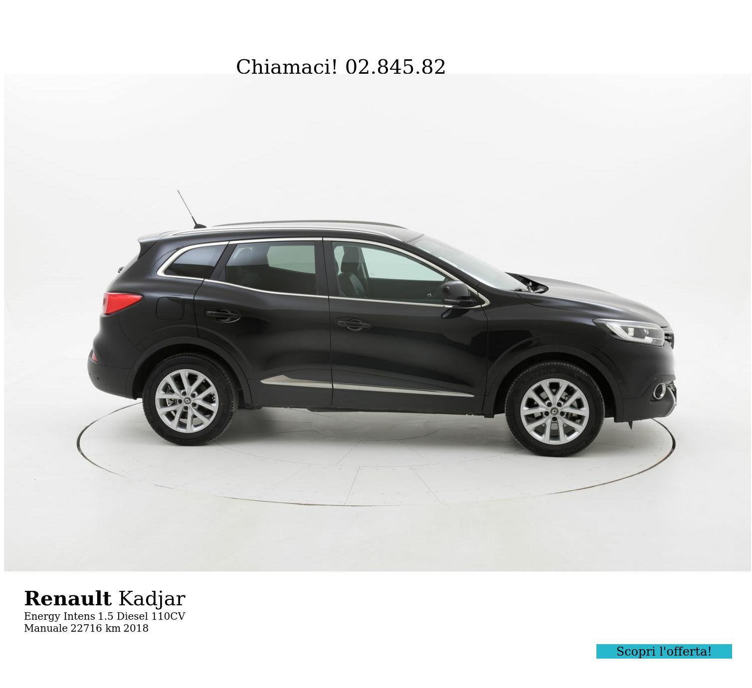 Renault Kadjar usata del 2018 con 22.736 km | brumbrum