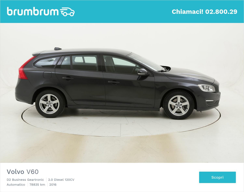 Volvo V60 D2 Business Geartronic usata del 2016 con 78.864 km | brumbrum