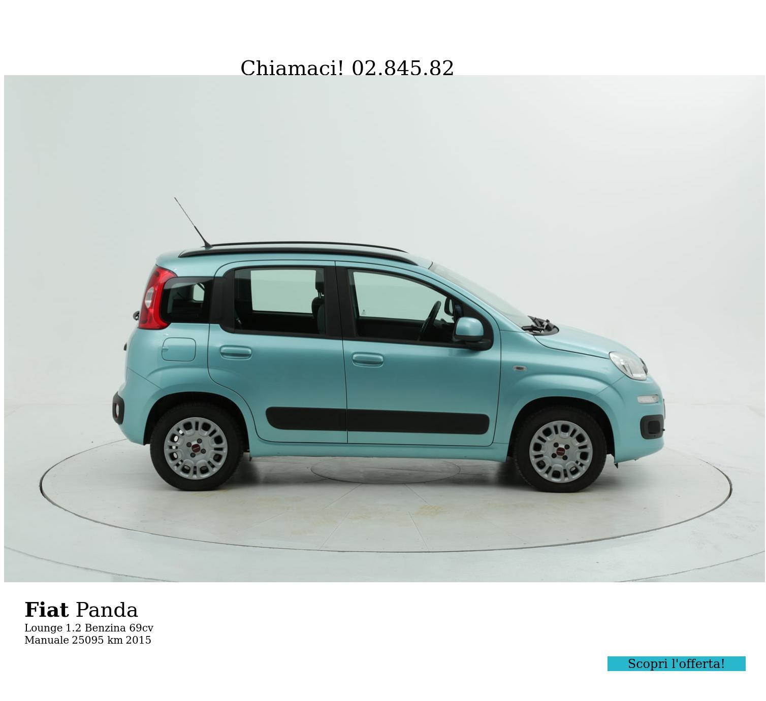 Fiat Panda usata del 2015 con 25.126 km | brumbrum
