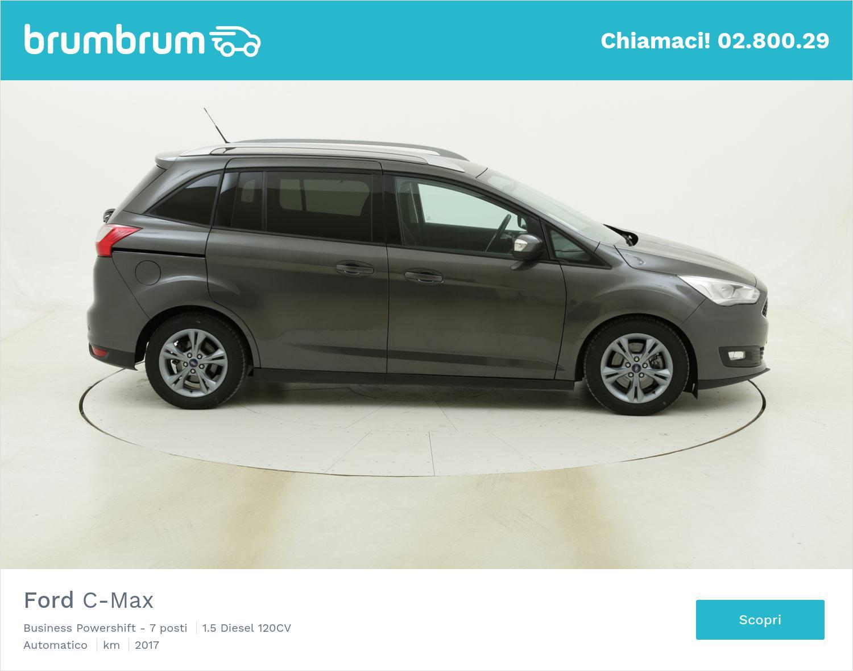 Ford C-Max Business Powershift - 7 posti usata del 2017 con 89.931 km | brumbrum