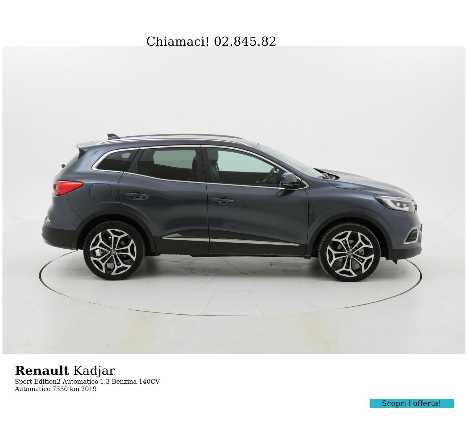 Renault Kadjar usata del 2019 con 7.545 km | brumbrum