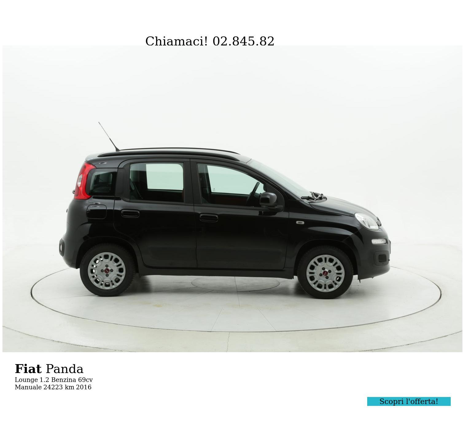 Fiat Panda usata del 2016 con 24.224 km | brumbrum