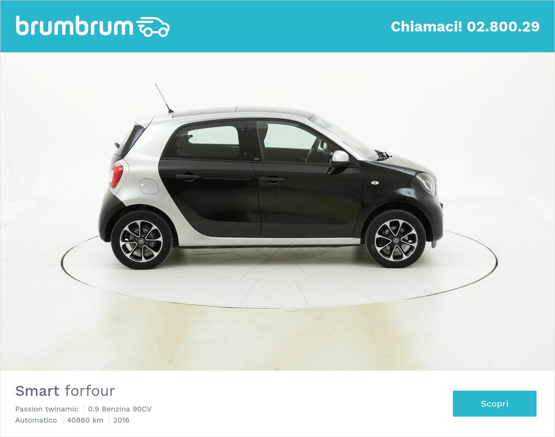 Smart Forfour Passion twinamic usata del 2016 con 41.112 km | brumbrum