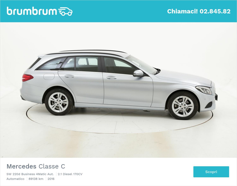 Mercedes Classe C usata del 2016 con 89.233 km   brumbrum