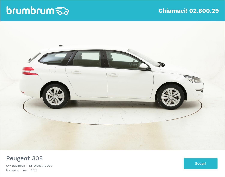 Peugeot 308 SW Business usata del 2015 con 73.186 km | brumbrum