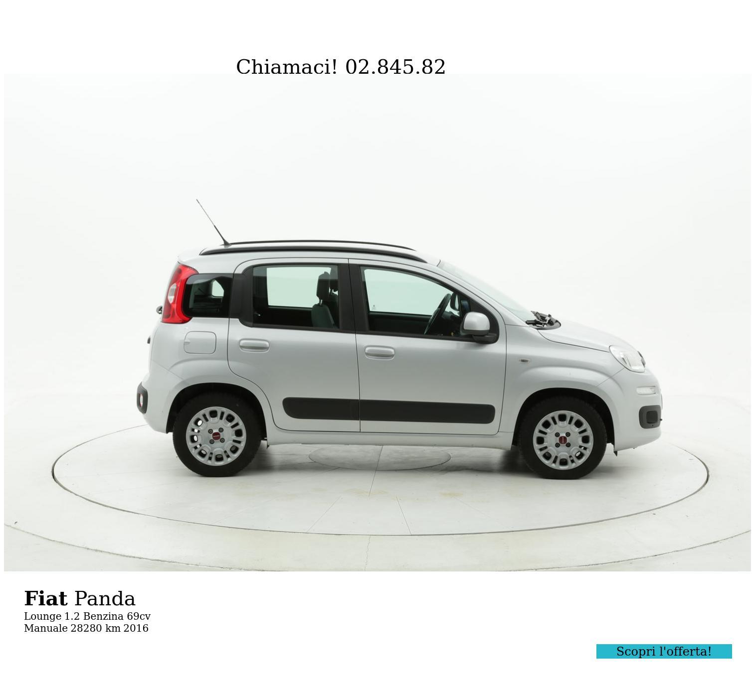 Fiat Panda usata del 2016 con 28.285 km   brumbrum