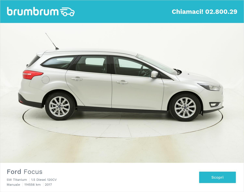 Ford Focus SW Titanium usata del 2017 con 114.566 km | brumbrum