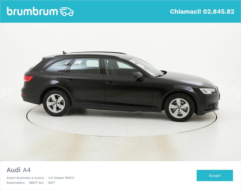 Audi A4 usata del 2017 con 58.571 km | brumbrum