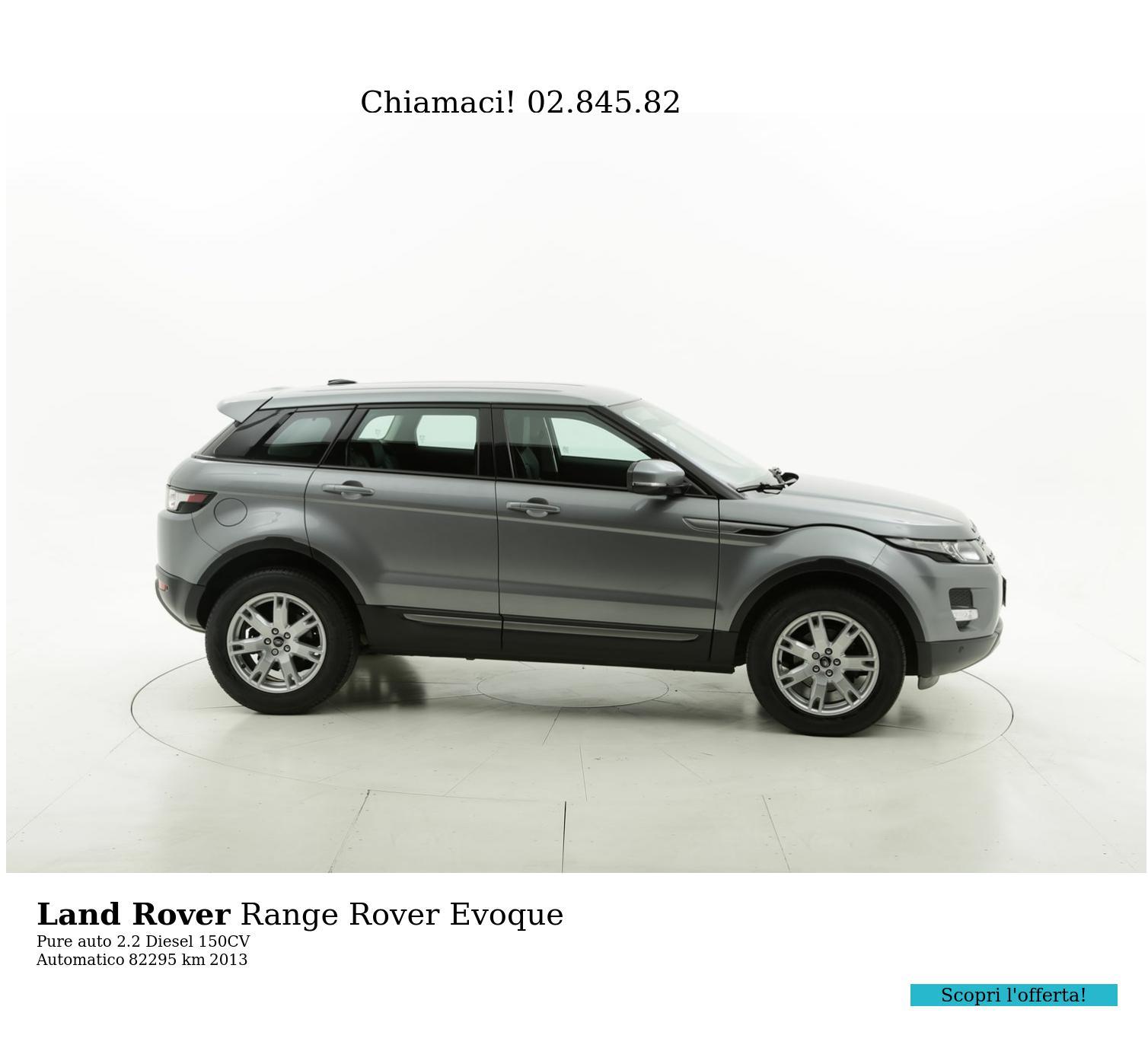 Land Rover Range Rover Evoque usata del 2013 con 82.892 km | brumbrum