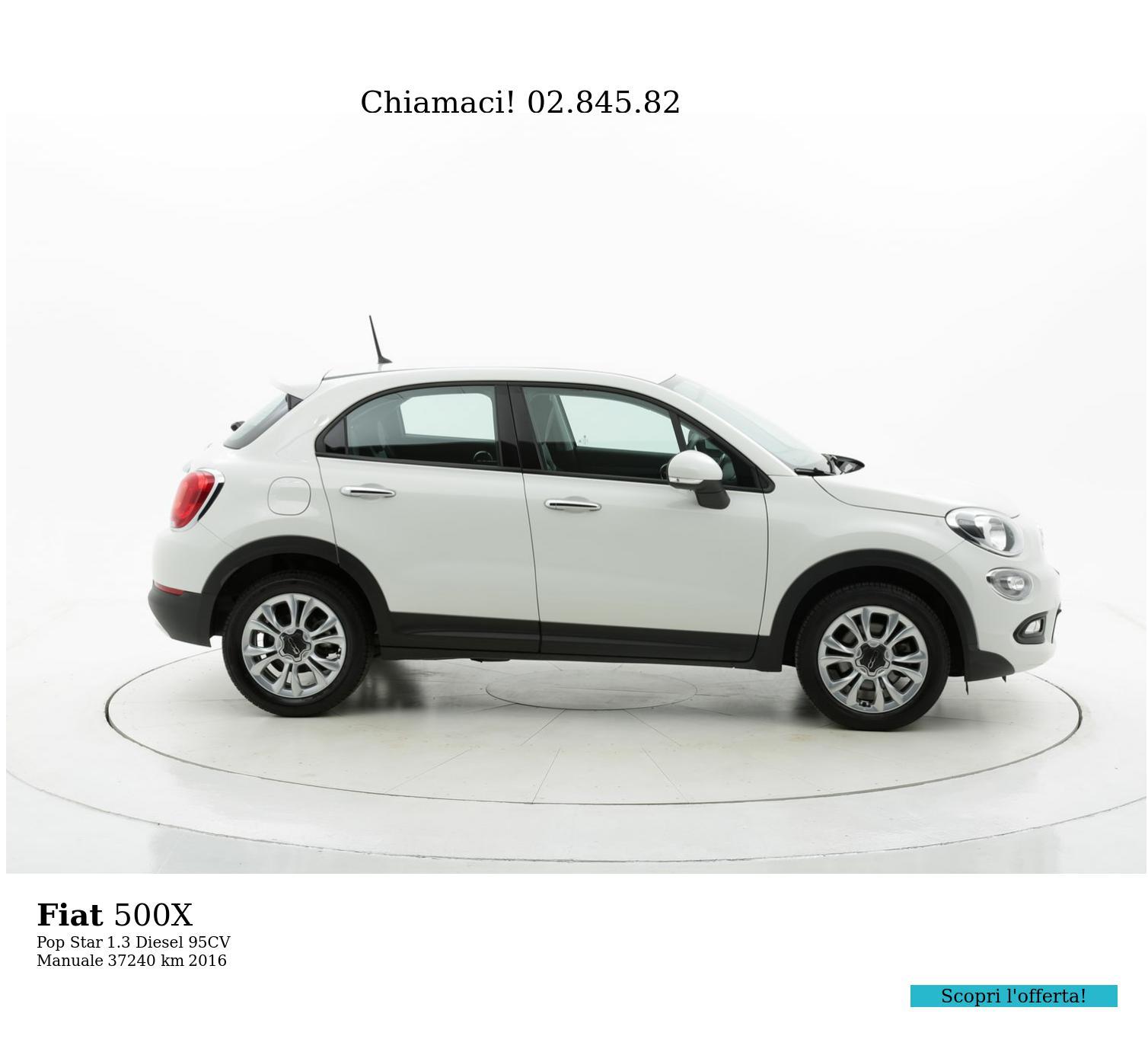 Fiat 500X usata del 2016 con 37.251 km | brumbrum