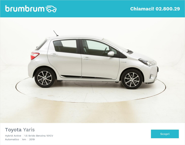 Toyota Yaris Hybrid Active usata del 2019 con 14.586 km | brumbrum