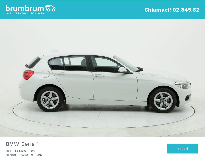BMW Serie 1 usata del 2016 con 10.645 km | brumbrum
