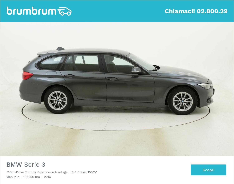 BMW Serie 3 318d xDrive Touring Business Advantage usata del 2016 con 106.227 km   brumbrum