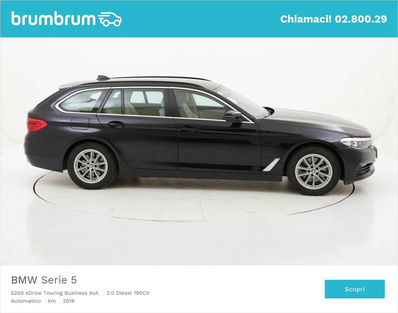 BMW Serie 5 520d xDrive Touring Business Aut. usata del 2019 con 33.111 km | brumbrum