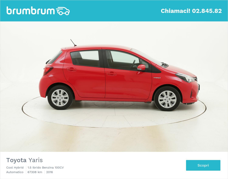 Toyota Yaris usata del 2016 con 67.847 km | brumbrum