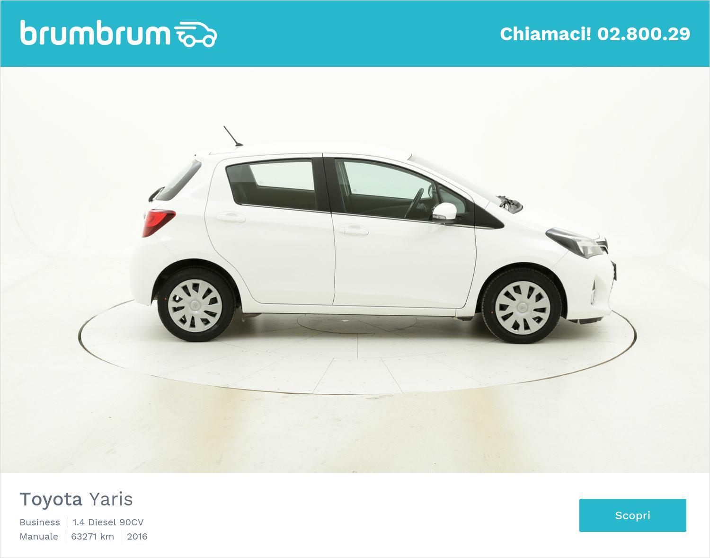 Toyota Yaris usata del 2016 con 63.278 km | brumbrum