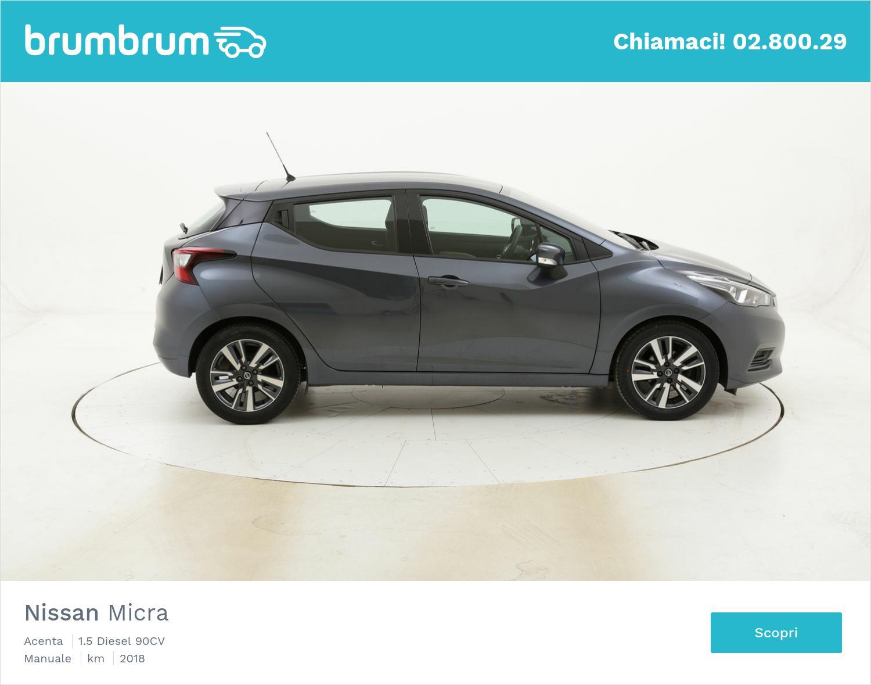 Nissan Micra Acenta usata del 2018 con 41.553 km   brumbrum