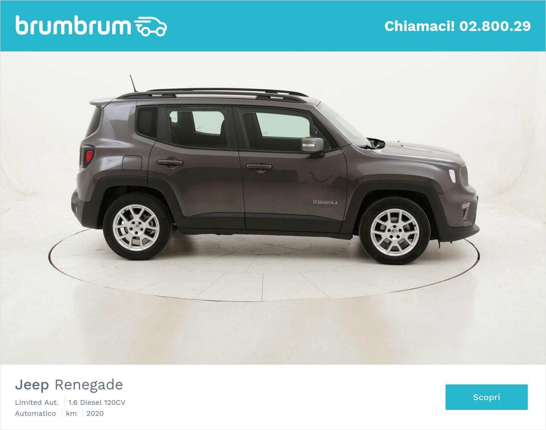 Jeep Renegade Limited Aut. usata del 2020 con 16.084 km   brumbrum