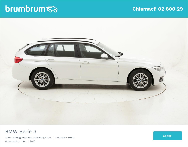 BMW Serie 3 318d Touring Business Advantage Aut. usata del 2018 con 50.583 km | brumbrum