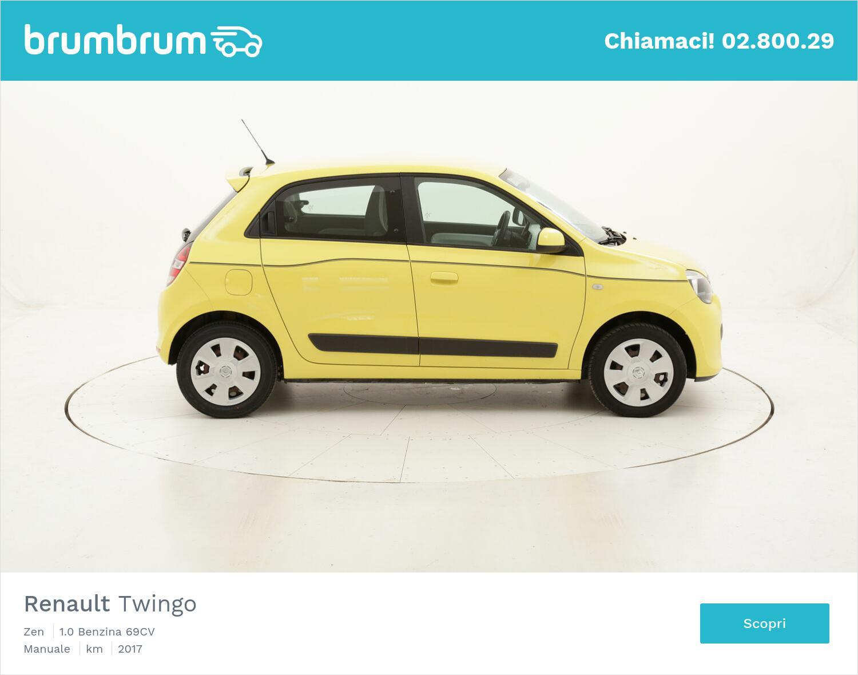 Renault Twingo Zen usata del 2017 con 84.683 km | brumbrum