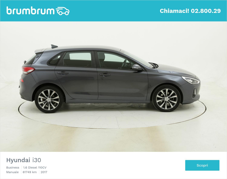 Hyundai I30 Business usata del 2017 con 61.756 km   brumbrum