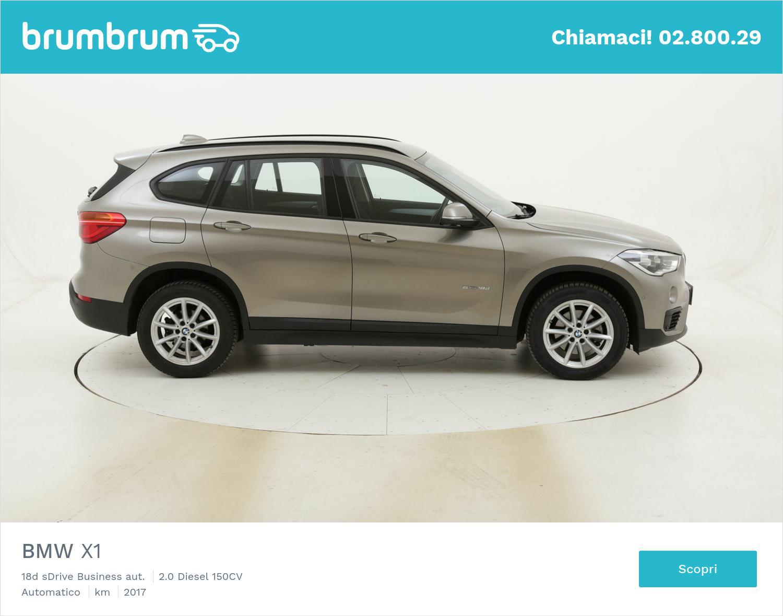 BMW X1 18d sDrive Business aut. usata del 2017 con 95.636 km | brumbrum