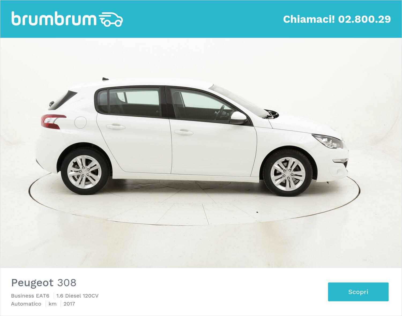 Peugeot 308 Business EAT6 usata del 2017 con 90.779 km   brumbrum