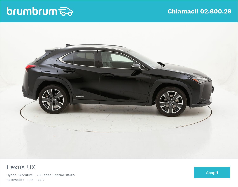 Lexus UX Hybrid Executive usata del 2019 con 18.554 km | brumbrum