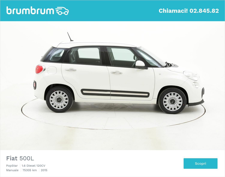 Fiat 500L usata del 2015 con 75.361 km | brumbrum