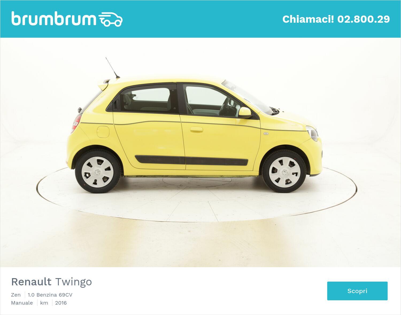 Renault Twingo Zen usata del 2016 con 58.934 km   brumbrum