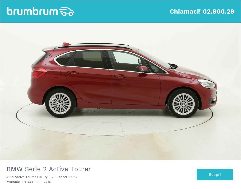 BMW Serie 2 Active Tourer usata del 2016 con 48.017 km | brumbrum