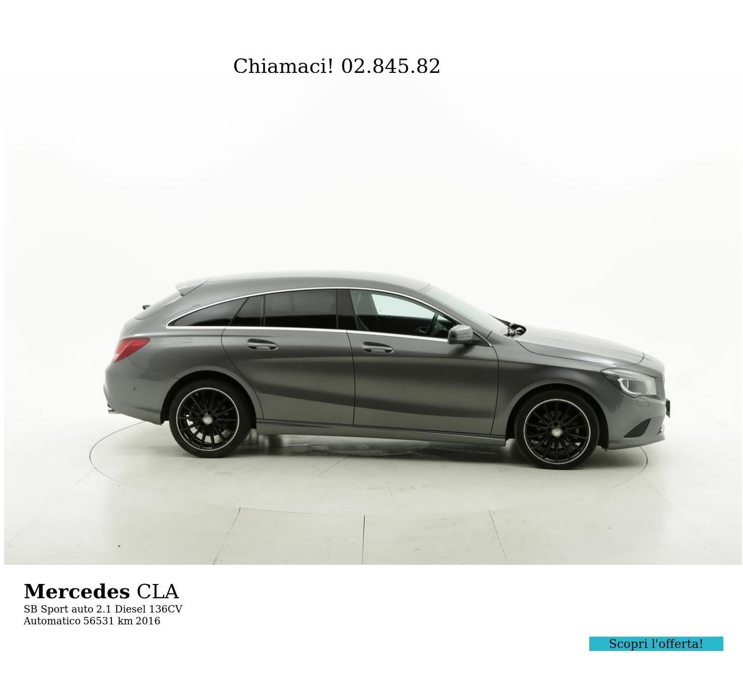 Mercedes CLA usata del 2016 con 56.450 km | brumbrum
