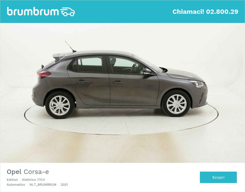 Opel Corsa-e Edition elettrico antracite a noleggio a lungo termine   brumbrum