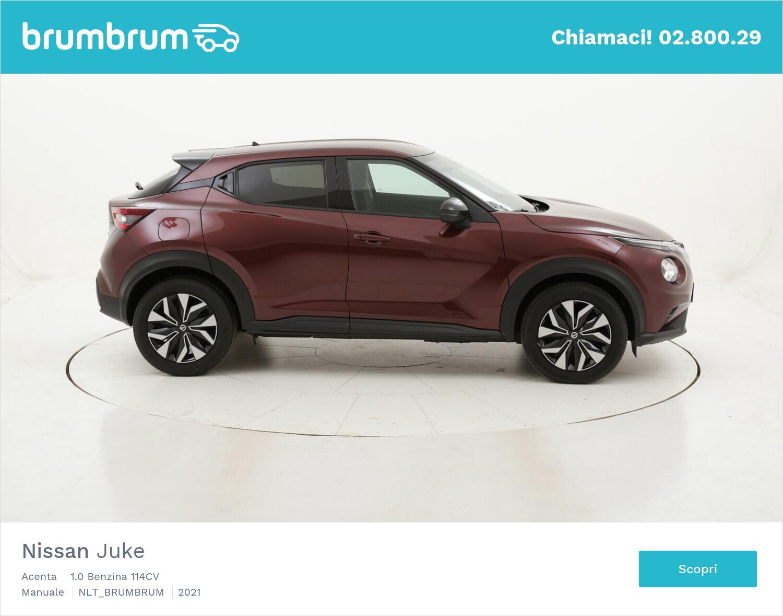 Nissan Juke Acenta benzina antracite a noleggio a lungo termine | brumbrum