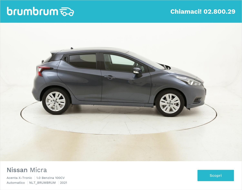 Nissan Micra a noleggio a lungo termine | brumbrum